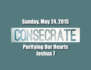 Consecrate Purify
