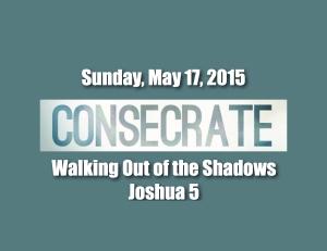 Consecrate Shadows