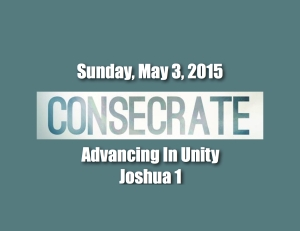 Consecrate Unity
