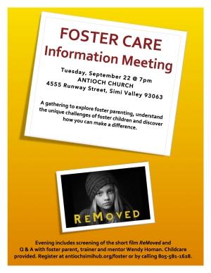 Foster Info Meeting